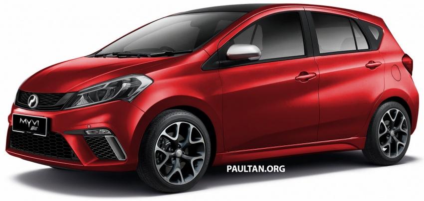 RENDERED: 2018 Perodua Myvi SE – a new hot hatch? Image #741906