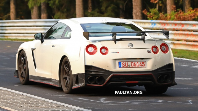 Spied 2019 Nissan Gt R Nismo Seen At The Ring