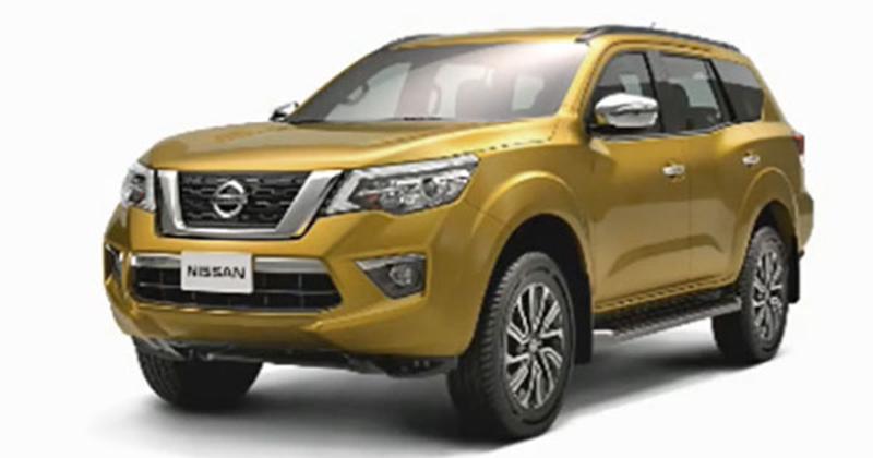Nissan Xterra leaked - NP300 Navara-based SUV