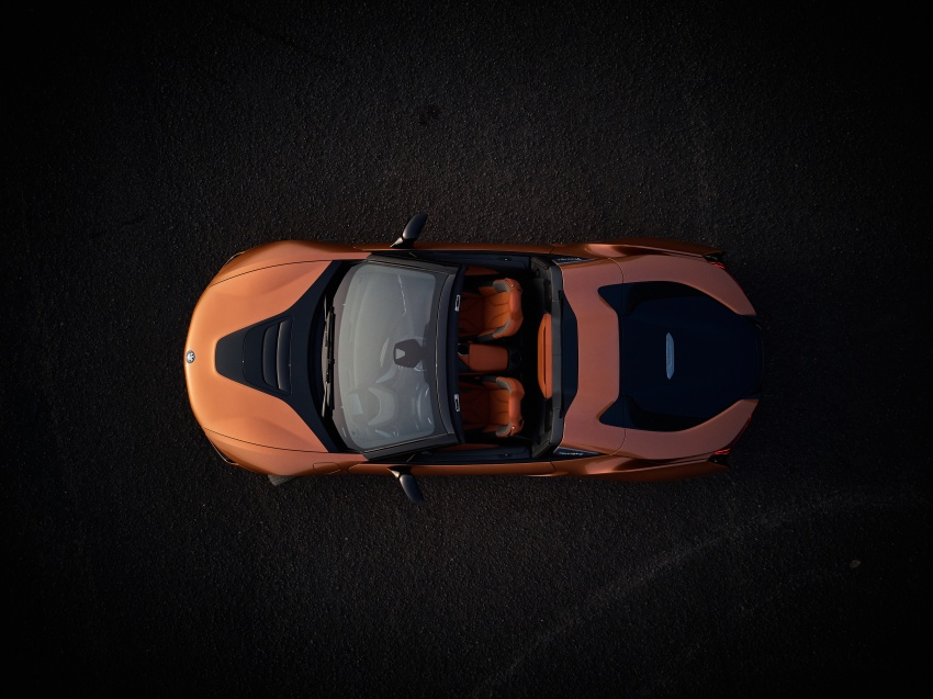 BMW i8 Roadster unveiled – only 60 kg heavier; i8 Coupe also gets new battery, 50% better EV range Image #745830
