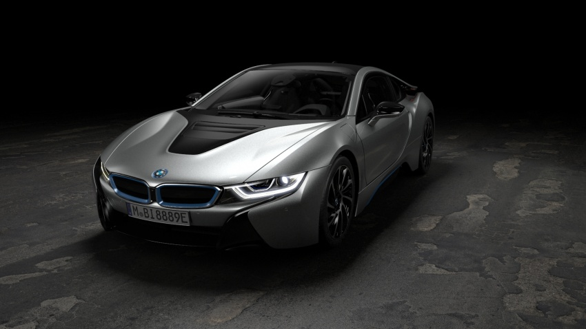 BMW i8 Roadster unveiled – only 60 kg heavier; i8 Coupe also gets new battery, 50% better EV range Image #745878
