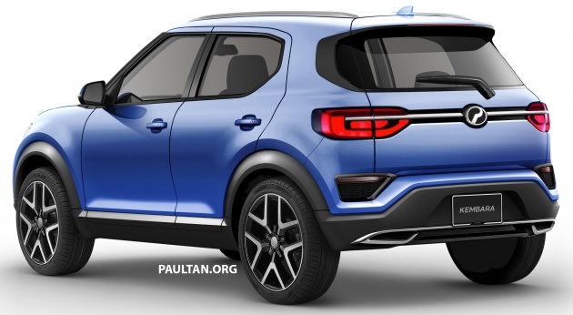 Perodua Alza 2018 >> RENDERED: New Perodua Kembara – P2's next move?