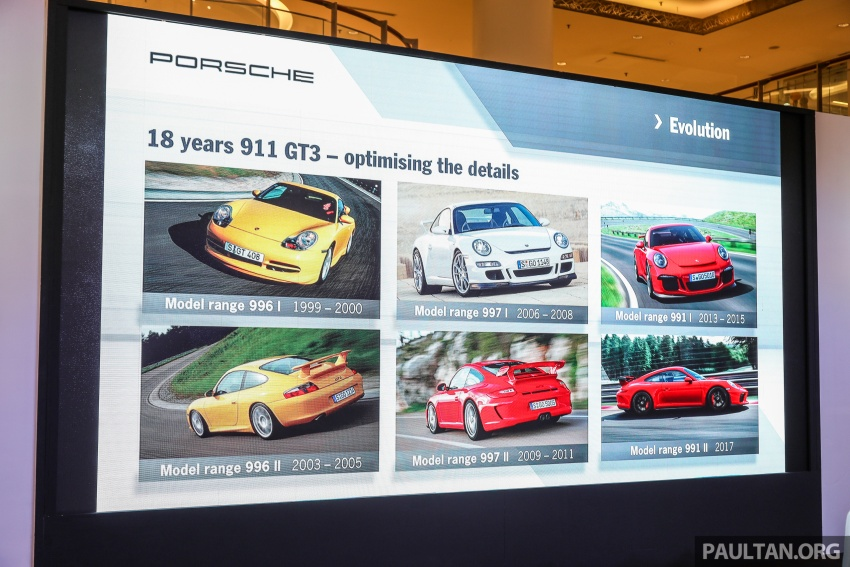 Porsche 911 GT3 launched in Malaysia – from RM1.7m Image #731112