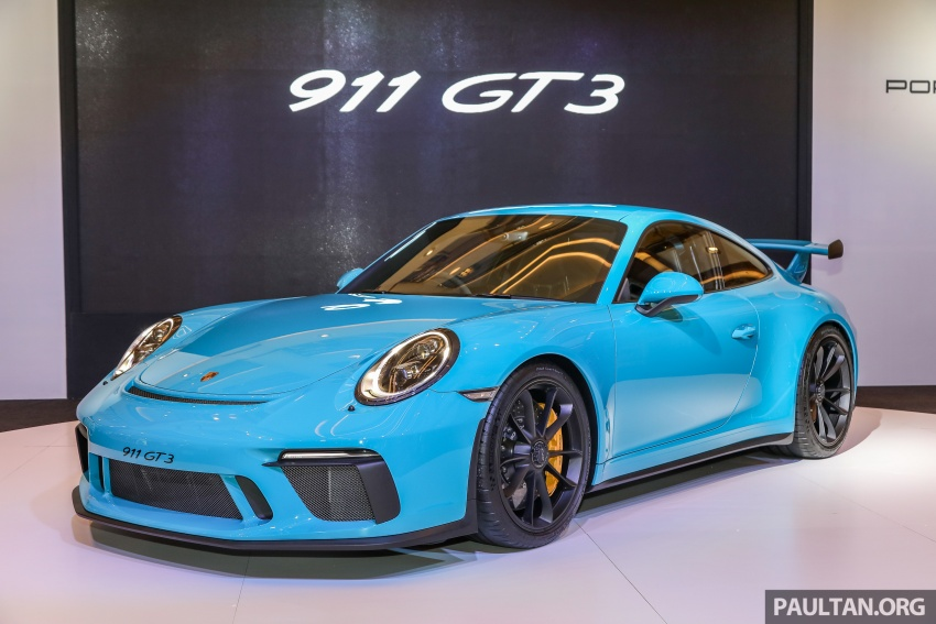 Porsche 911 GT3 launched in Malaysia – from RM1.7m Image #731114