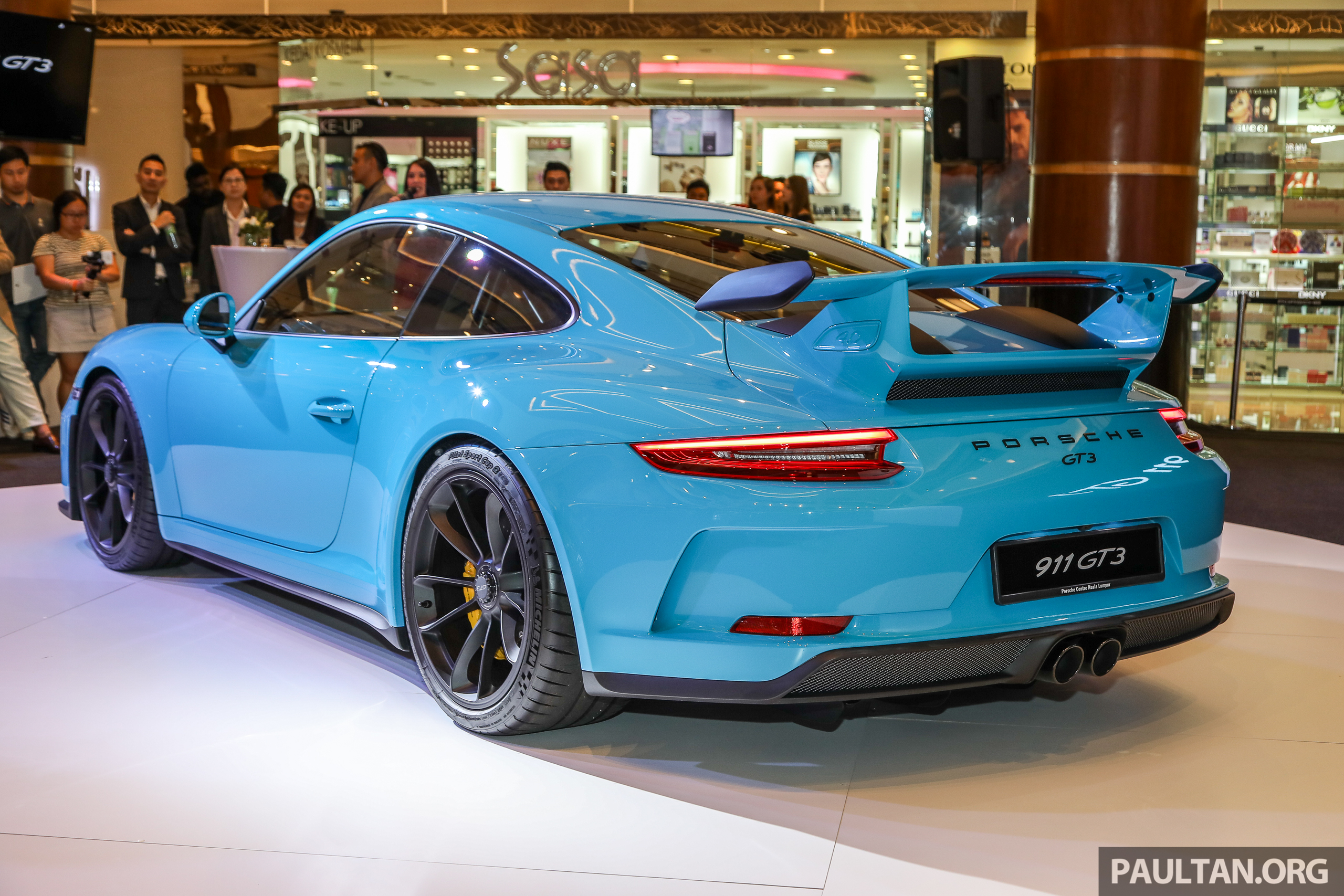 Porsche 911 Gt3 Launched In Malaysia From Rm1 7m Paul