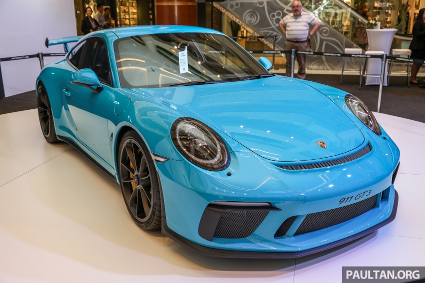 Porsche 911 GT3 launched in Malaysia – from RM1.7m Image #731286