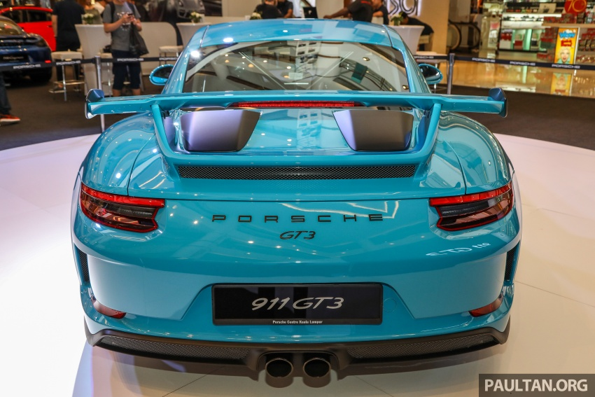 Porsche 911 GT3 launched in Malaysia – from RM1.7m Image #731295