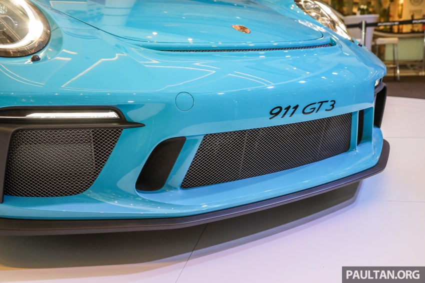 Porsche 911 GT3 launched in Malaysia – from RM1.7m Image #731301