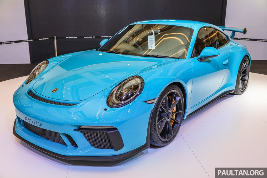 Porsche 911 GT3 launched in Malaysia – from RM1.7m Image #731287