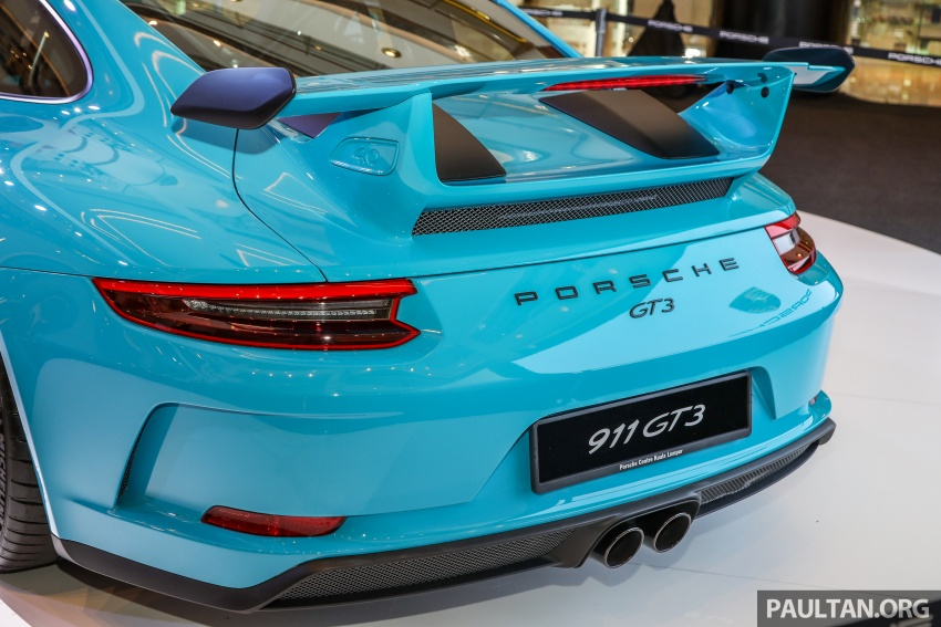 Porsche 911 GT3 launched in Malaysia – from RM1.7m Image #731308
