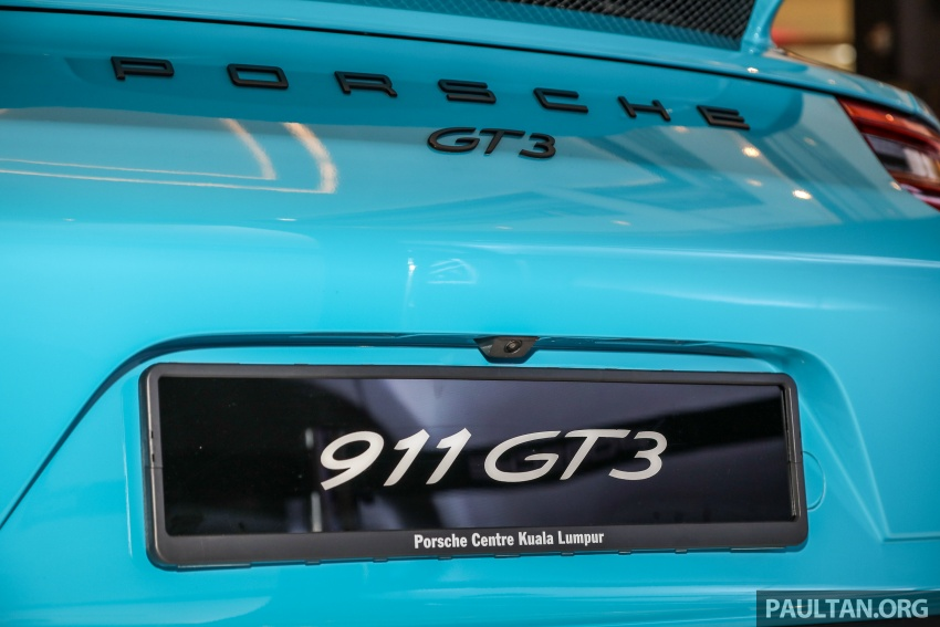 Porsche 911 GT3 launched in Malaysia – from RM1.7m Image #731312