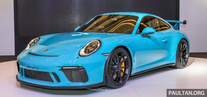Porsche 911 GT3 launched in Malaysia – from RM1.7m Image #731288