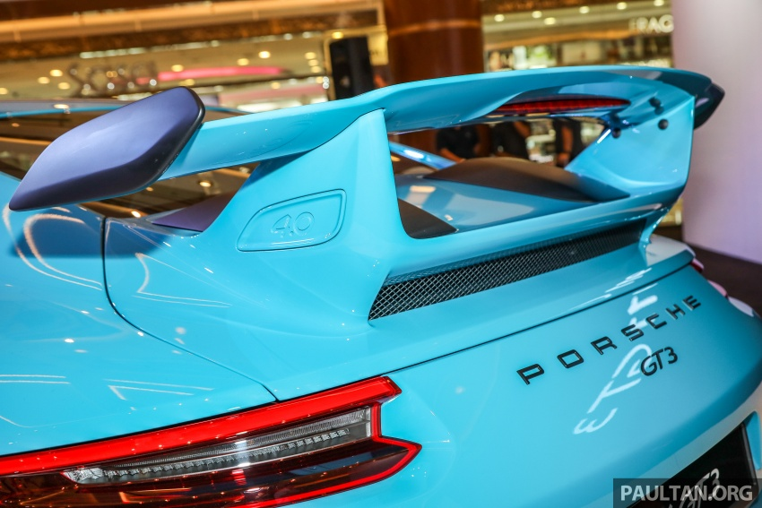 Porsche 911 GT3 launched in Malaysia – from RM1.7m Image #731315