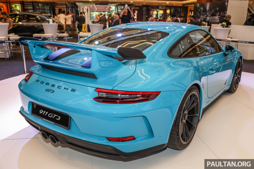 Porsche 911 GT3 launched in Malaysia – from RM1.7m Image #731289
