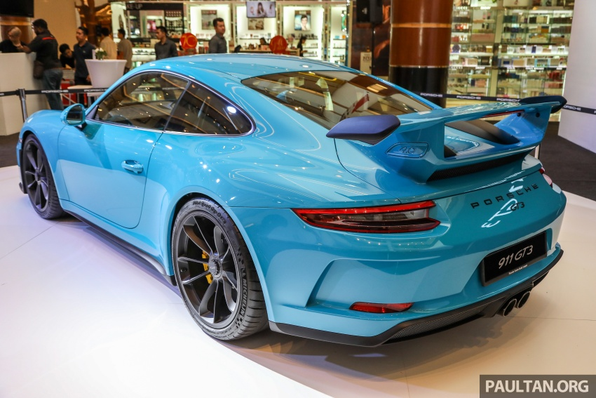 Porsche 911 GT3 launched in Malaysia – from RM1.7m Image #731290