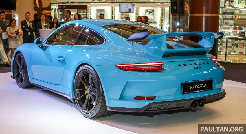 Porsche 911 GT3 launched in Malaysia – from RM1.7m Image #731291