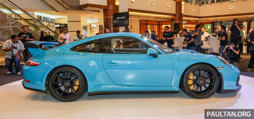 Porsche 911 GT3 launched in Malaysia – from RM1.7m Image #731292