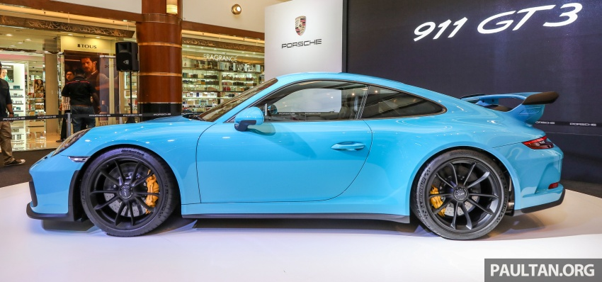 Porsche 911 GT3 launched in Malaysia – from RM1.7m Image #731293