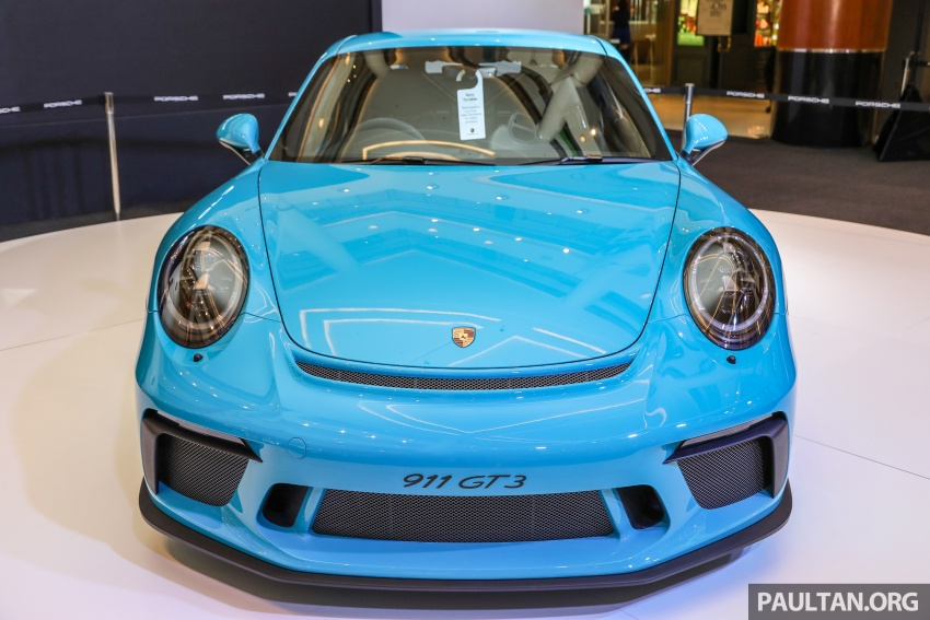 Porsche 911 GT3 launched in Malaysia – from RM1.7m Image #731294