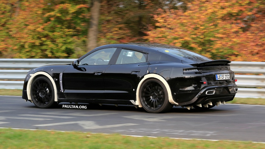SPIED: Porsche Mission E seen at the Nurburgring Image #738254