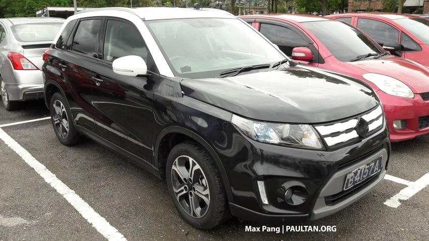 SPYSHOTS: Proton testing Suzuki Vitara – new SUV? Image #746034