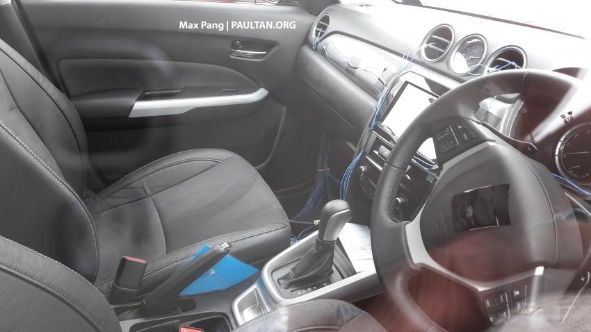 SPYSHOTS: Proton testing Suzuki Vitara – new SUV? Image #746036