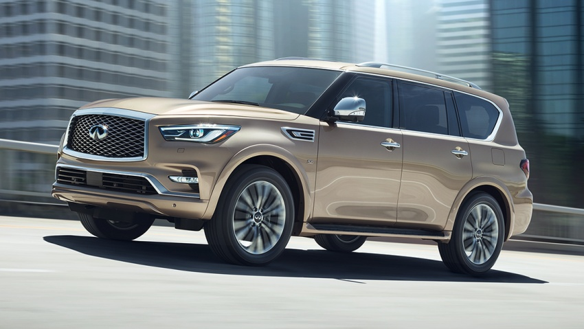 Infiniti QX80 facelift unveiled in Dubai – refreshed flagship SUV coming to Malaysia in 2018 Image #737670