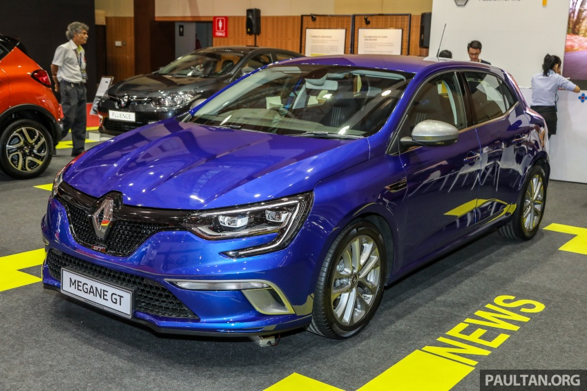 Renault Megane GT dipertontonkan di Malaysia Image #736067