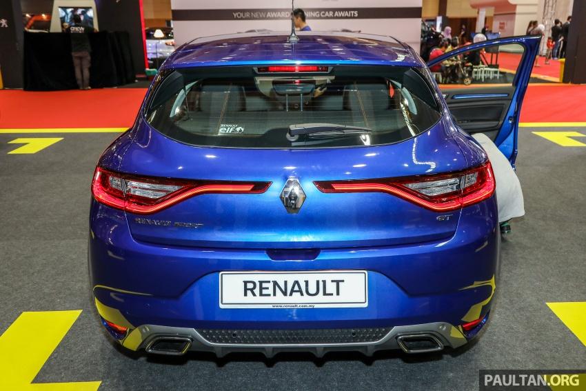 Renault Megane GT dipertontonkan di Malaysia Image #736070