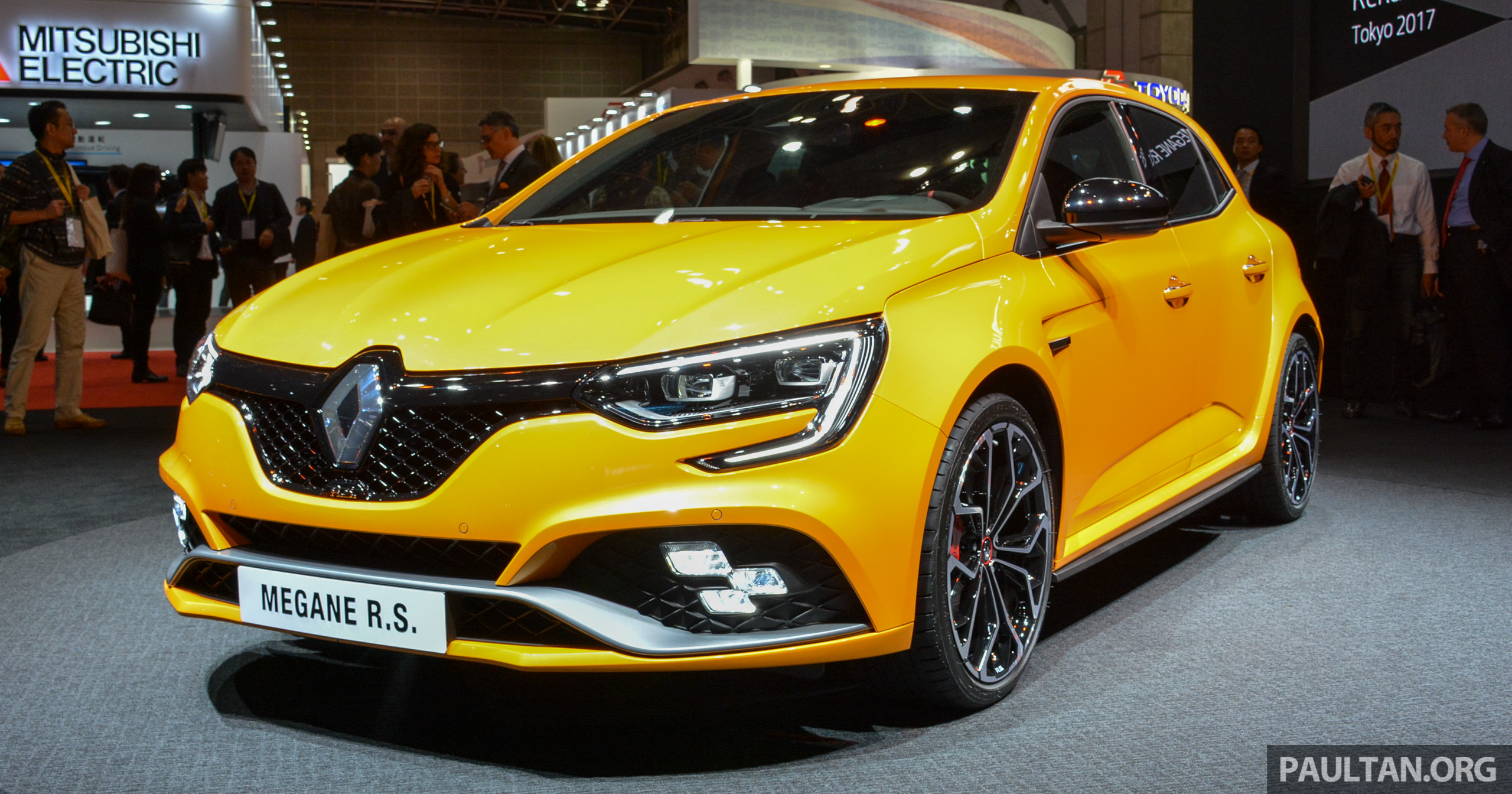 tokyo 2017 renault megane rs 280 hp hot hatch. Black Bedroom Furniture Sets. Home Design Ideas