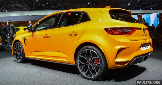 tokyo 2017 renault megane rs baharu turut dipamerkan 1 8 liter turbo berkuasa 280 hp 390 nm. Black Bedroom Furniture Sets. Home Design Ideas