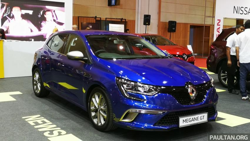 Renault Megane GT dipertontonkan di Malaysia Image #735949