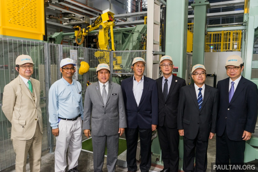 Sakamoto opens new factory – first manufacturer of plastic fuel tanks in M'sia, used on 2018 Perodua Myvi Image #744745