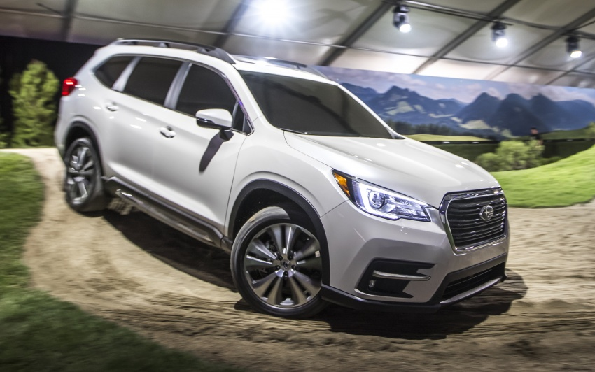 2019 Subaru Ascent – eight-seat SUV makes its debut Image #745132