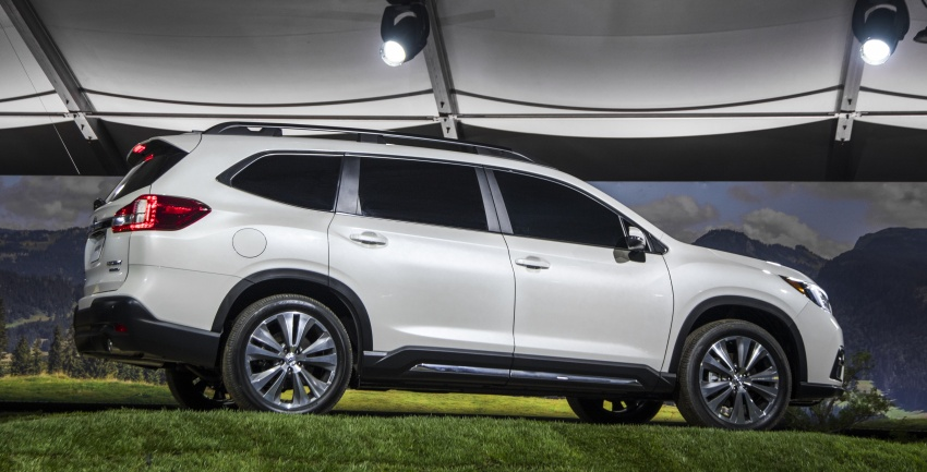2019 Subaru Ascent – eight-seat SUV makes its debut Image #745135