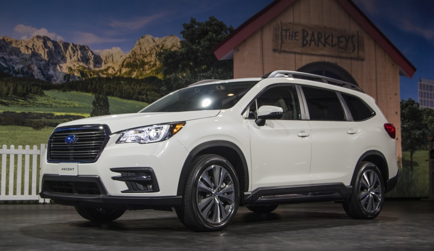 2019 Subaru Ascent – eight-seat SUV makes its debut Image #745136