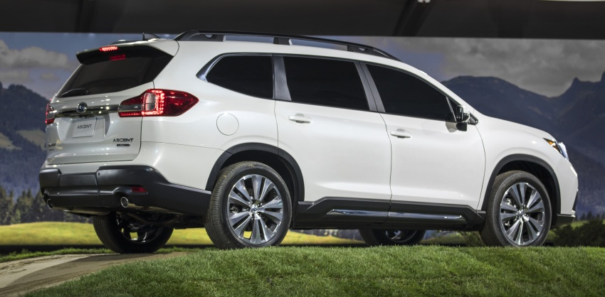 2019 Subaru Ascent – eight-seat SUV makes its debut Image #745137