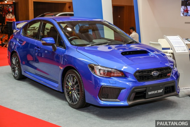 The 2018 Subaru Wrx Sti Has Been Previewed In Malaysia Today Wearing A Price Tag Of Rm309 647 On Road Without Insurance High Performance Sedan