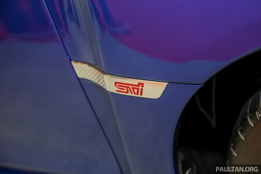 2018 Subaru WRX STI previewed in M'sia – RM309,647 Image #735525