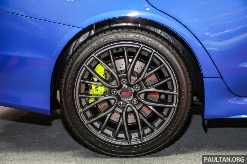 2018 Subaru WRX STI previewed in M'sia – RM309,647 Image #735527