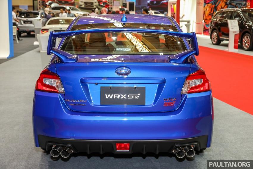 2018 Subaru WRX STI previewed in M'sia – RM309,647 Image #735511