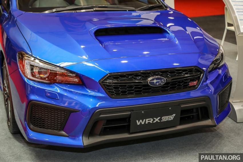 2018 Subaru WRX STI previewed in M'sia – RM309,647 Image #735512