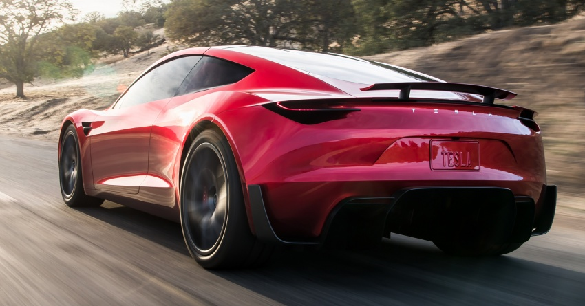 Tesla Roadster – second-generation debuts; 0-97 km/h in 1.9 seconds, 402 km/h top speed, 998 km range Image #740132