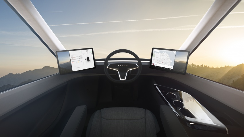 Tesla Semi – futuristic truck with Enhanced Autopilot; 0-97 km/h sprint in 20 seconds with 36-tonne load Image #740164