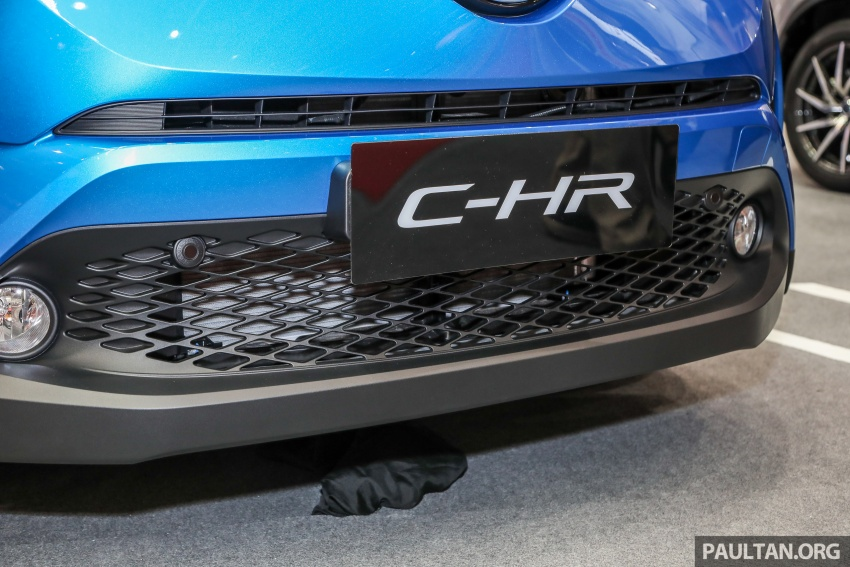 Toyota C-HR Malaysian spec previewed – CBU from Thailand, 141 PS 1.8 litre NA engine, 2018 launch Image #735296