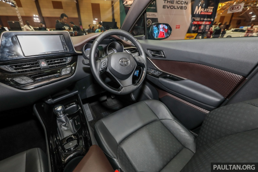 Toyota C-HR Malaysian spec previewed – CBU from Thailand, 141 PS 1.8 litre NA engine, 2018 launch Image #735335