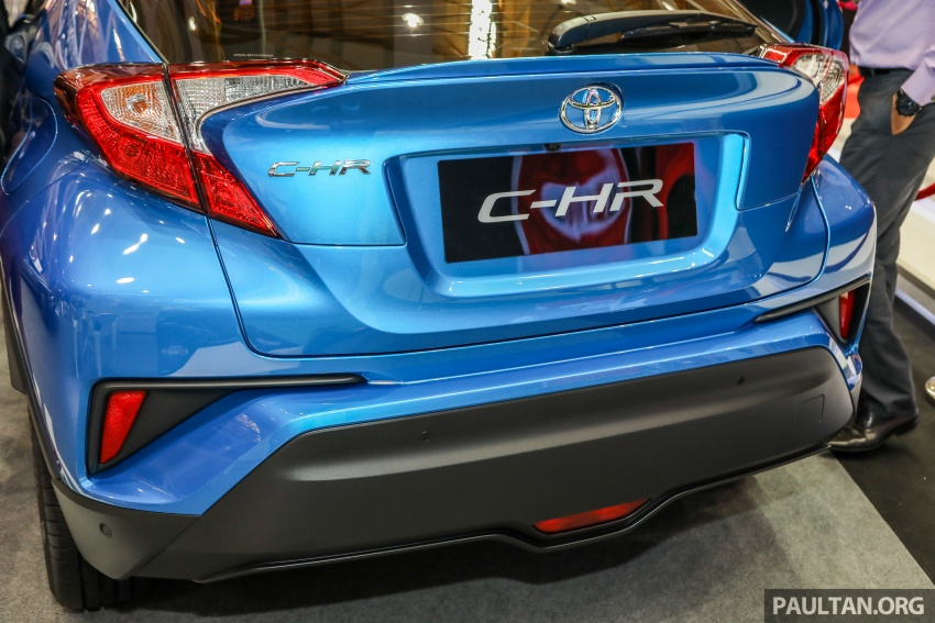 Toyota C-HR Malaysian spec previewed – CBU from Thailand, 141 PS 1.8 litre NA engine, 2018 launch Image #735309