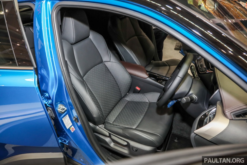Toyota C-HR Malaysian spec previewed – CBU from Thailand, 141 PS 1.8 litre NA engine, 2018 launch Image #735338