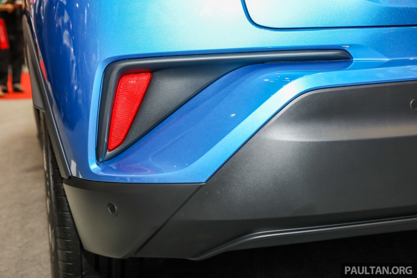 Toyota C-HR Malaysian spec previewed – CBU from Thailand, 141 PS 1.8 litre NA engine, 2018 launch Image #735313