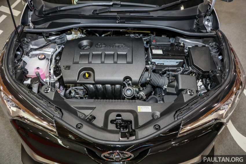 Toyota C-HR Malaysian spec previewed – CBU from Thailand, 141 PS 1.8 litre NA engine, 2018 launch Image #735319